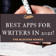 Best apps for writers in 2021