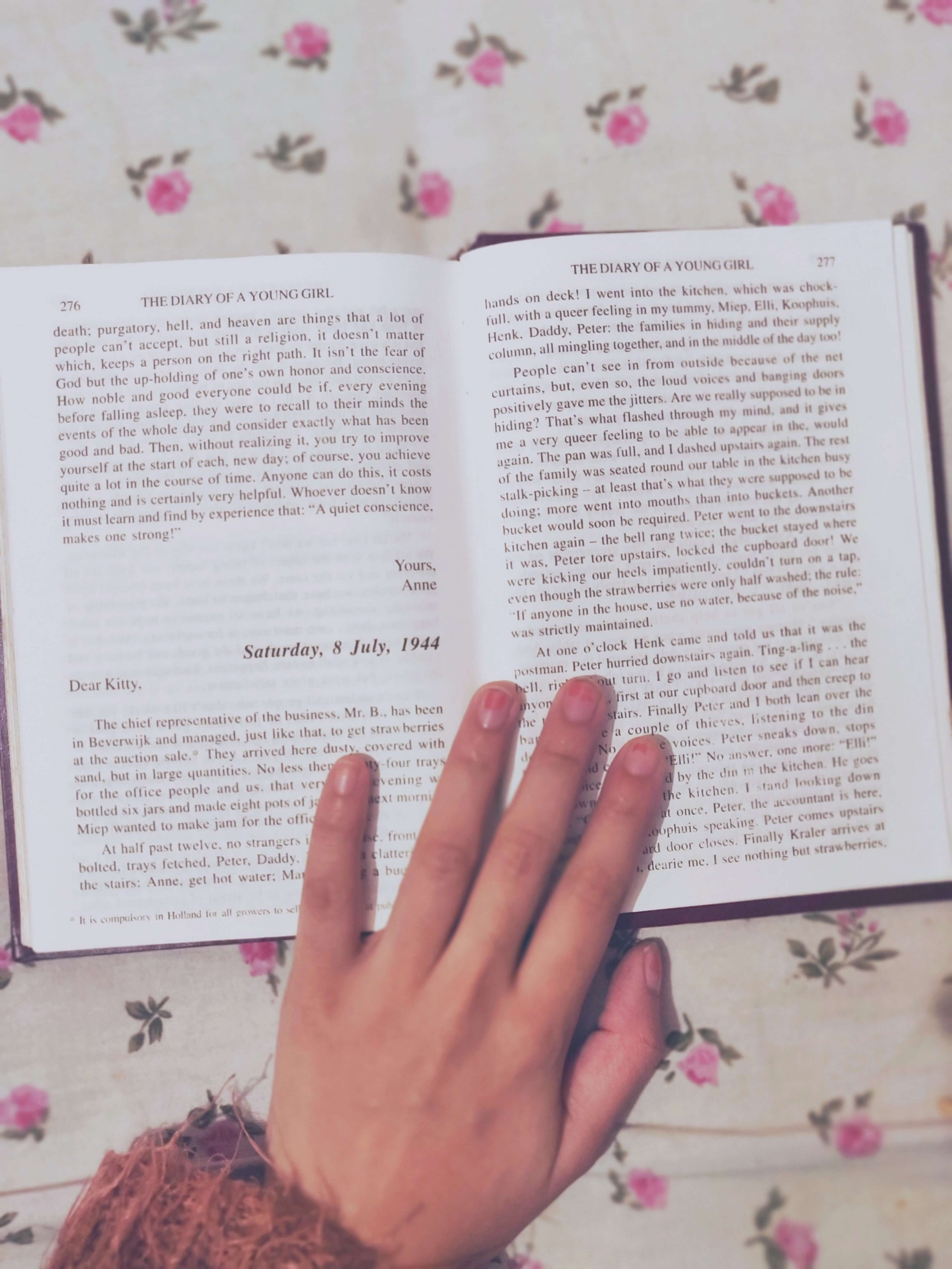 diary of a young girl classic book recommendation