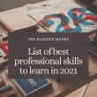 List of best professional skills to learn in 2021