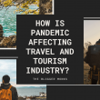 How is pandemic affecting travel and tourism industry?
