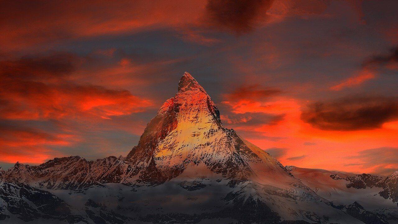 zermatt mountain switzerland