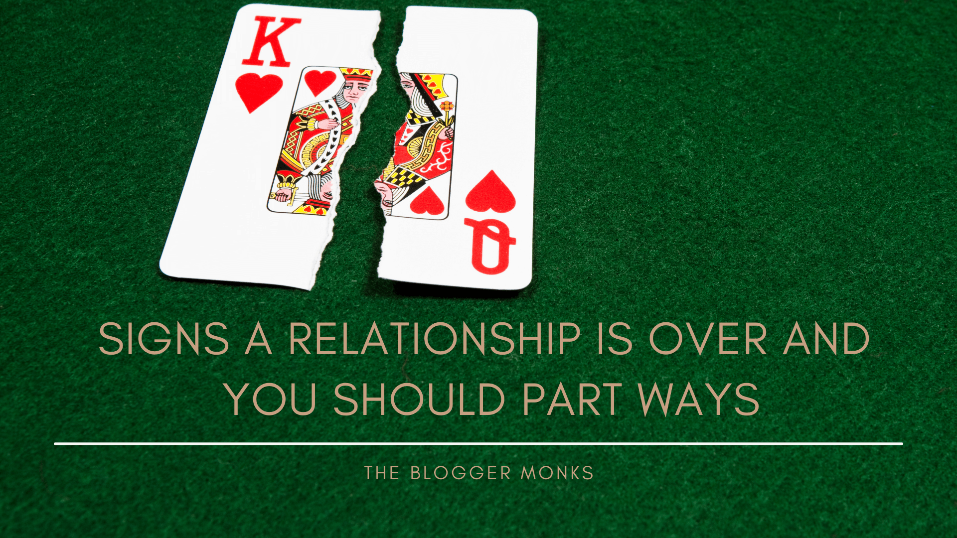 Signs a relationship is over and you should part ways!
